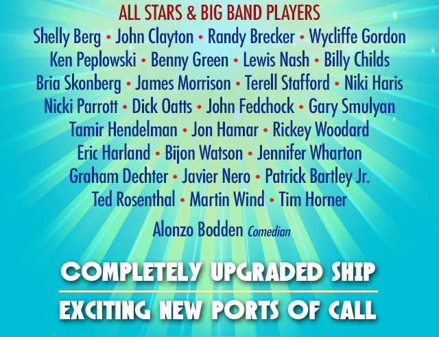 The Jazz Cruise '22 Lineup