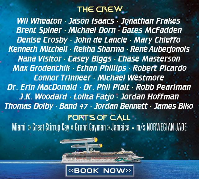 Star Trek The Cruise III - Lineup
