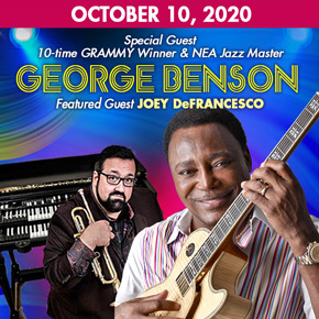 October 10 with George Benson: