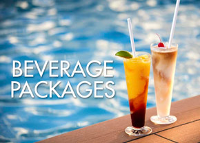 Pre-book your beverage packages.
