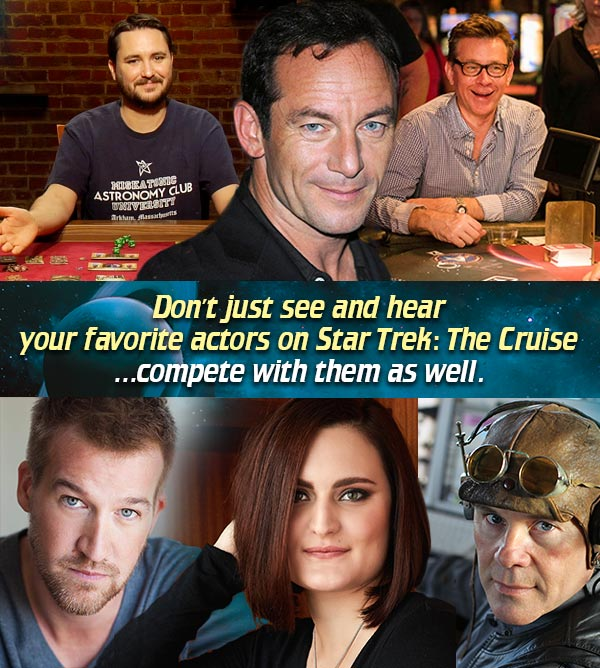 Compete on Star Trek: The Cruise