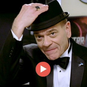 Backstage Transmission from Robert Picardo